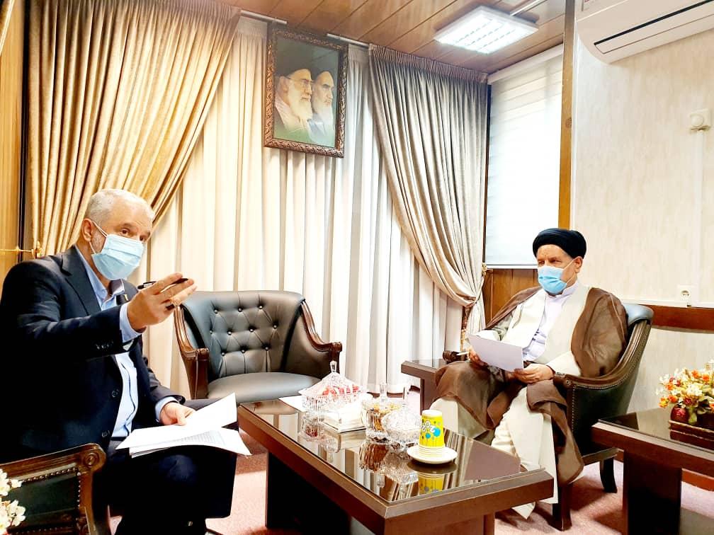 دیدار حجت الاسلام موحد با رئیس بنیاد شهید و امور ایثارگران کشور