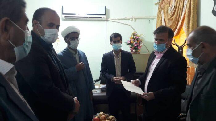 با حکم مدیر جهاد کشاورزی شهرستان کهگیلویه رئیس جدید خانه ترویج بخش سوق منصوب شد