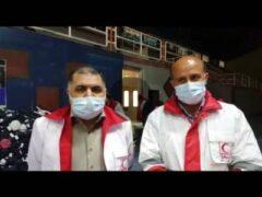 برپایی دو اردوگاه اسکان اضطراری و فعالیت ۱۰ تیم ارزیاب در شهرسی سخت توسط هلال احمر/مصدومان زلزله تاکنون ۴۷ نفر بوده است