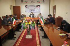 نشست خبری مسئولین قضایی شهرستان کهگیلویه با اصحاب رسانه برگزارشد
