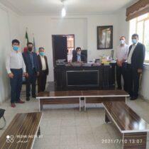 دیداراعضای منتخب ششمین دوره انتخابات شهر چرام با مقامات قضایی شهرستان/تقاضا جهت همکاری  نهادهای قضایی با  شورای شهر