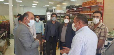 بازدید سرزده مسئولان سازمان بازرسی و تعزیرات حکومتی استان از بازار مرکز استان