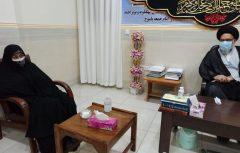 آیت الله سید نصیر حسینی در دیدار با معاون امور بانوان ریاست جمهور:دولت توجه ویژهای به این استان و زنان و دختران مناطق محروم داشته باشد